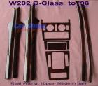 Mercedes - W202 Accessories - Real Walnut 10pce Wood Kit Italy