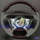 Mercedes - W202L W208E R129 - Walnut with Oyster Leather Steering Wheel