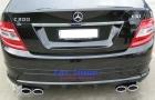 Mercedes - W204 - Addon Bumper Kit 3