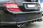 Mercedes - W204 - Addon Bumper Kit 6