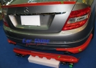 Mercedes - W204 Styling - Addon Bumper Kit Rear