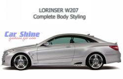 Mercedes - W207 - Lorinser Complete Styling Side