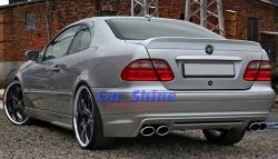 Mercedes - W208 - Ludwig Styling Rear Bumper