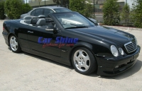 Mercedes - W208 - Rieger Side Skirts