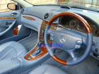 Mercedes - W209 - Pacific Blue Steering Wheel 1