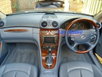 Mercedes - W209 - Pacific Blue Steering Wheel 2