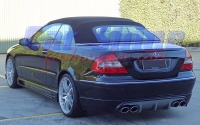 Mercedes - W209 - Rieger Complete Styling 5 PB