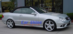 Mercedes - W209 Accessories - AMG Style 3 SL & Eibach Lowered F