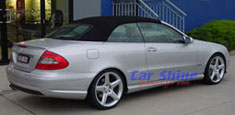 Mercedes - W209 Accessories - AMG Style 3 SL & Eibach Lowered R