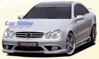 Mercedes - W209 Styling - Rieger Front Bumper