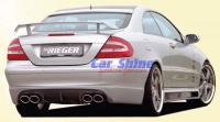 Mercedes - W209 Styling - Rieger Rear Bumper