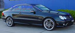 Mercedes - W209 Wheels - AMG Styling 4 Multipiece Titanium SL65 Wheels