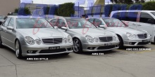 Mercedes - W211 - W211 with AMG Kits 1
