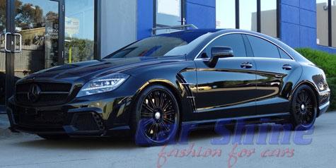 Mercedes - W218 - Wald Black Bison Styling 3