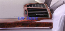 Mercedes - W221 Accessories - Wood Side Airvents 2pce