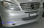 Mercedes - W639 - LU Front Lip Spoiler Silver