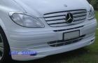 Mercedes - W639 - LU Front Lip Spoiler White