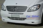 Mercedes - W639 - LU Front Lip Spoiler White 2