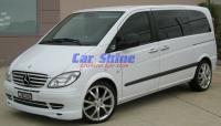 Mercedes - W639 - Lumma Front Spoiler - Grille Bars - Mercedes Wheels 2