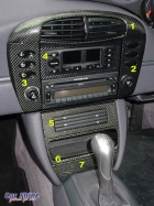 Porsche - 911 996 Styling - Carbon Fibre Dash Kits big