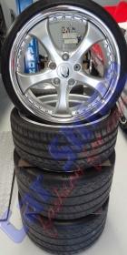 Porsche - Techart Wheels - Atlas Grey Metallic