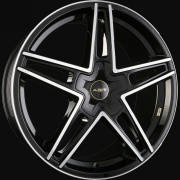 Wheels - AZEV - typ_p2_nero_fp_gold_schraeg