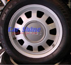 Wheels - Audi A4 - Factory Alloys + Average Tyres 15x6