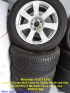 Wheels - MB - 7 SPOKE with Conti 2