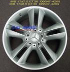 Wheels - MB 5 Twin Spoke 17 B6647-4268-9
