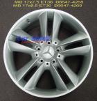 Wheels - MB 5 Twin Spoke 17 B6647-4268-9