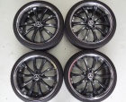 Wheels - PWC - Black 2piece Wheels 0