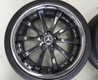 Wheels - PWC - Black 2piece Wheels 1