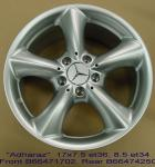 Wheels - Tradein - MB Adharaz 17in set