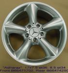 Wheels - Tradein - MB Adharaz 17in set
