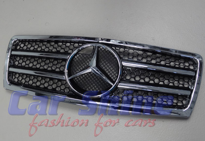 Mercedes W202 C Class AMG C63 STYLE GRILLE - BLACK