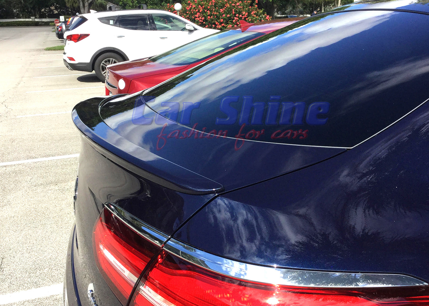 Mercedes C253 Glc Coupe Sports Style Boot Trunk Lip Spoiler