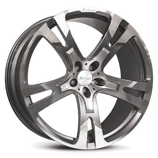 Lorinser RS10 FORGED SUV Wheel One Piece Light Alloy