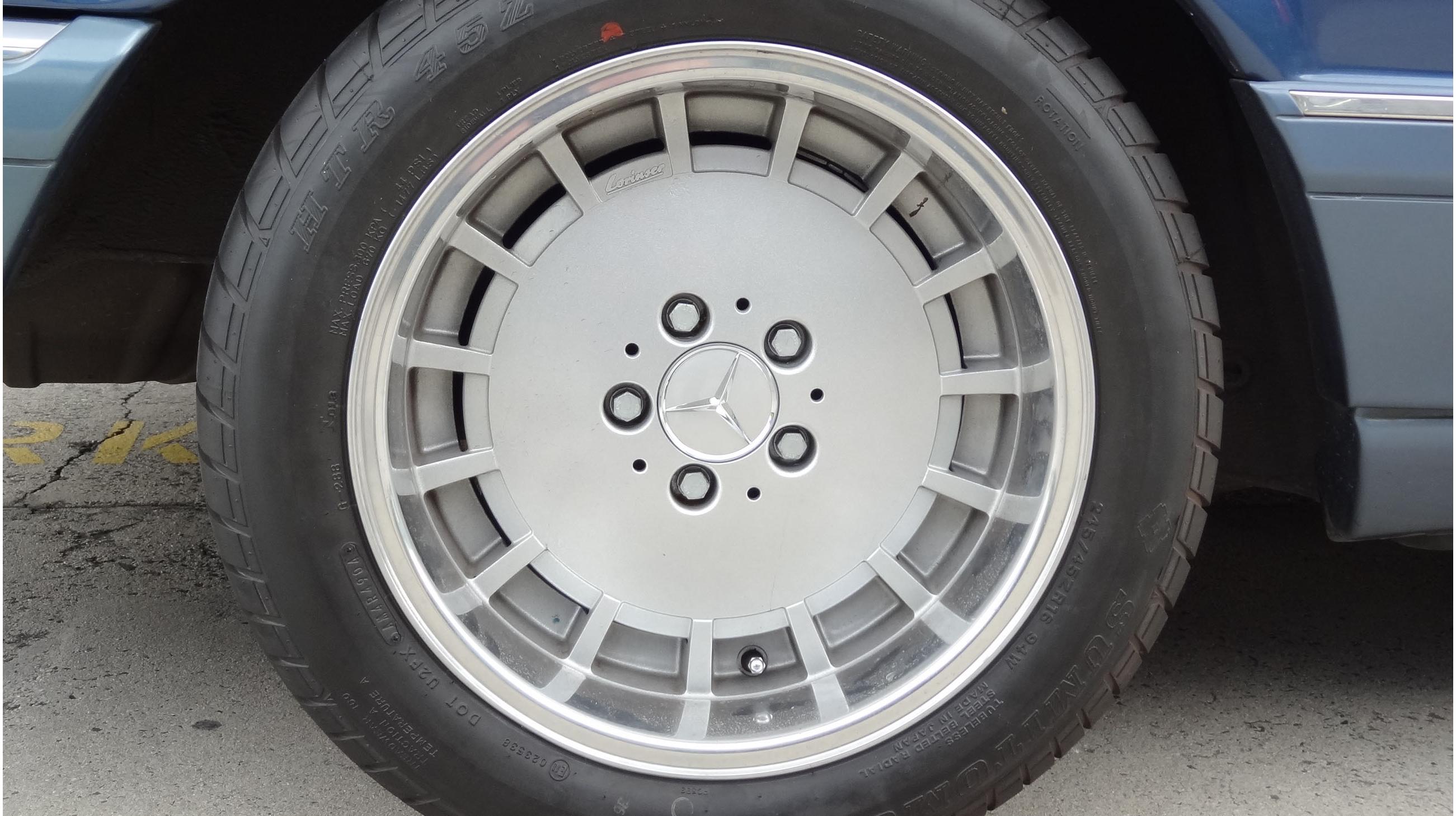 Lorinser Lo Wheel One Piece Light Alloy Wheel Mercedes
